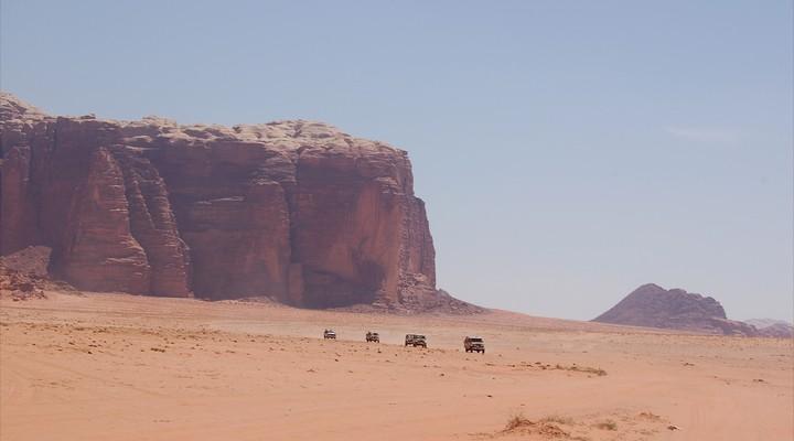 Wadi Rum rondreizen Jordanie