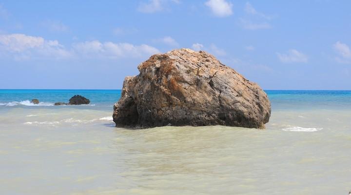 De rots van Aphrodite