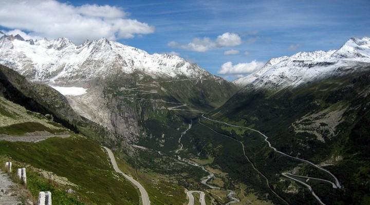 Furkapas, Zwitserland