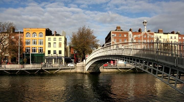 Skyline Dublin, hoofdstad Ierland