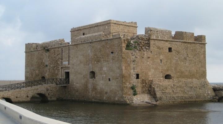 Ruïne van kasteel Pafos, Cyprus