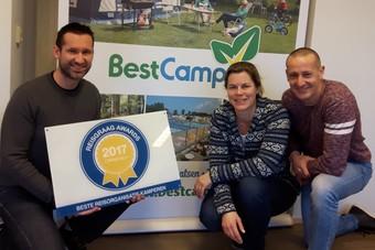 BestCamp wint Reisgraag Award 2017