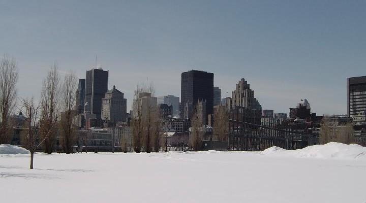 Winter in Montreal Sneeuw Canada