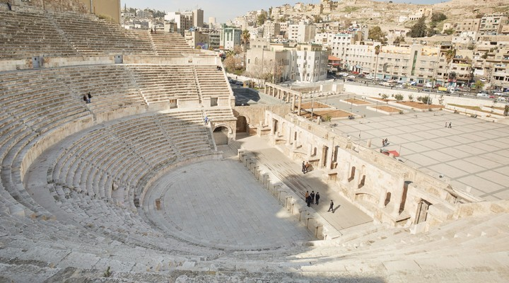 Romeinse Amfitheater in Amman