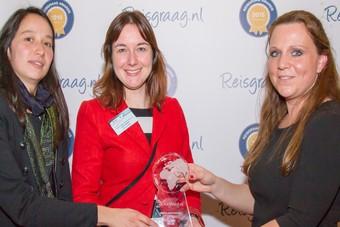 Toerisme België met de Reisgraag award