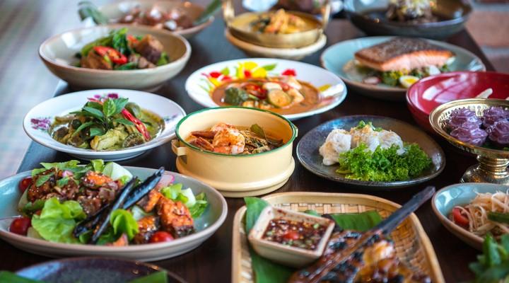 Typisch Thaise gerechten