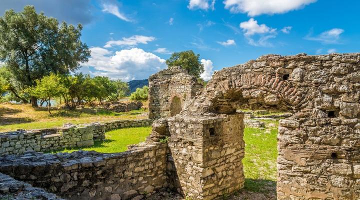 Ruïnes in Butrint