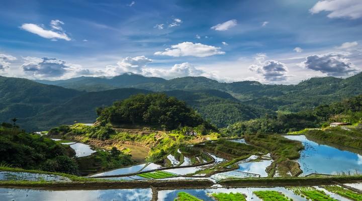 Bij Banaue vindt je de meest mooie en indrukwekkende rijstterrassen van Azië