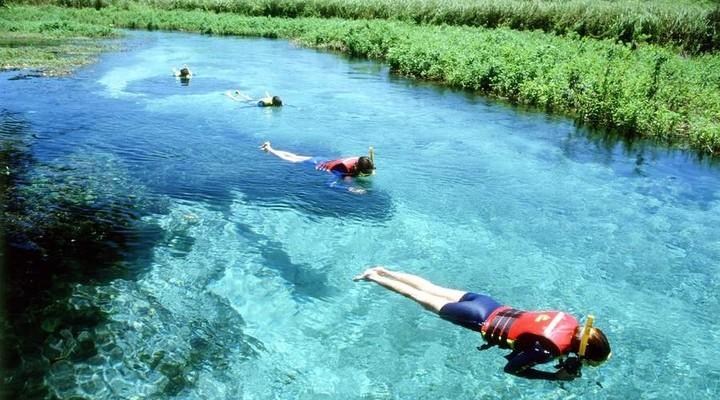 Snorkelen tijdens rondreis Argentinië en Brazilië
