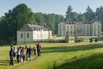 Rondleiding bij een kasteel in Frankrijk