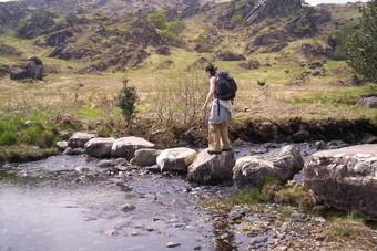 De weg van Kerry, Ierland