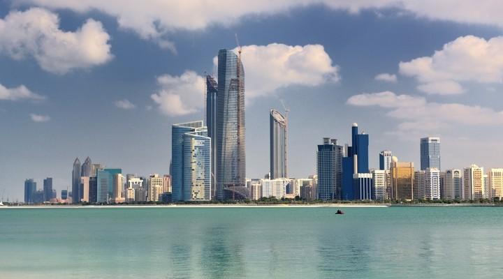 Skyline Abu Dhabi VAE