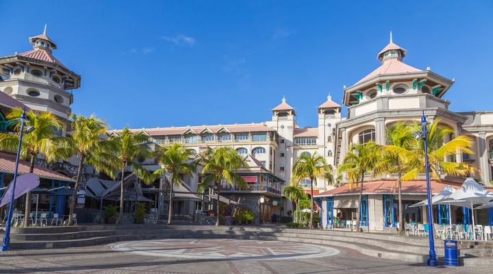 Port Louis, hoofdstad Mauritius