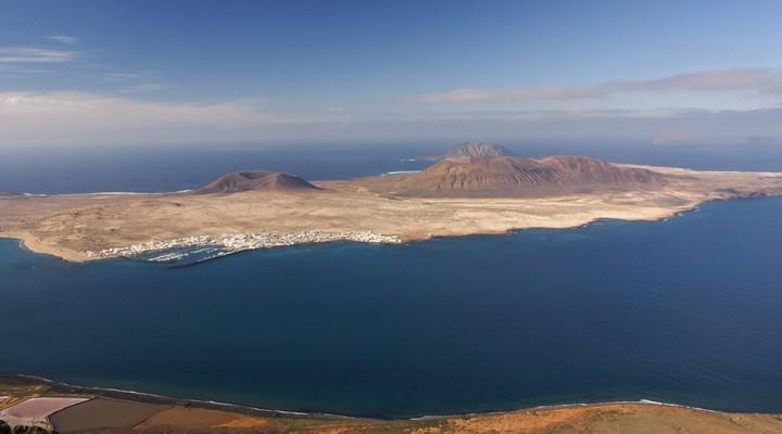 Het eiland Lanzarote, een nieuwe bestemming