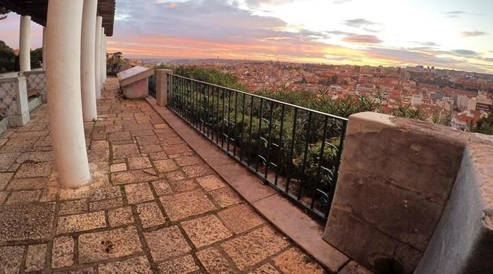 Uitzicht op Lissabon