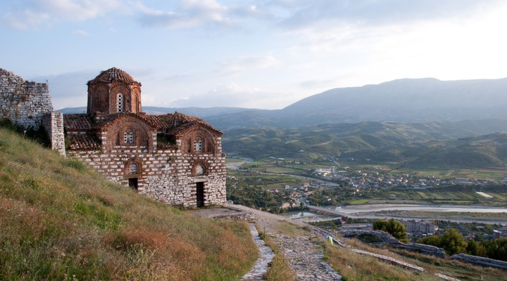 Kerk Berat Albanie