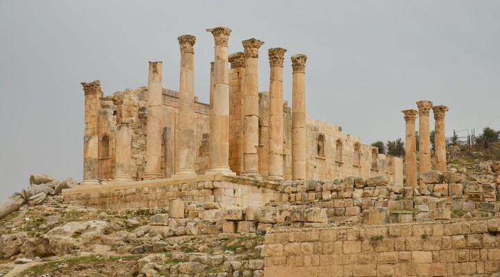 Zeustempel Jerash Jordanie