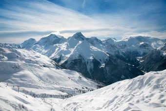 Paradiski, skigebied Frankrijk