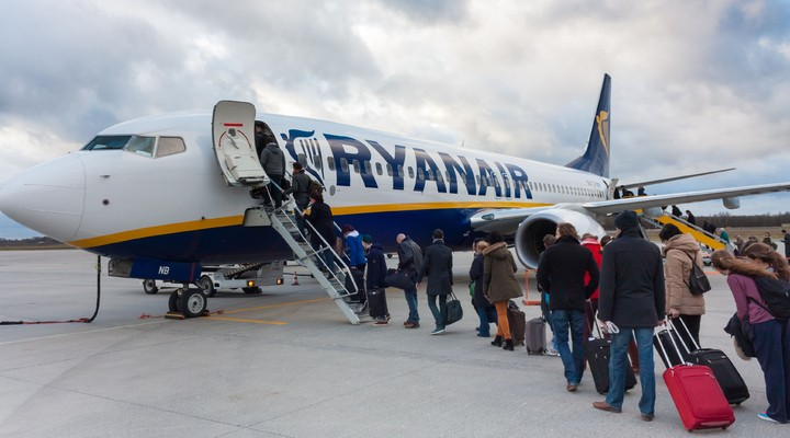 Ryanair in Maastricht