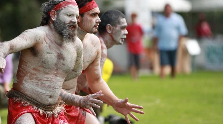Aboriginal dansers