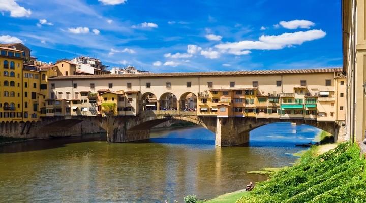Ponte Vecchio, brug, Florence, Italie