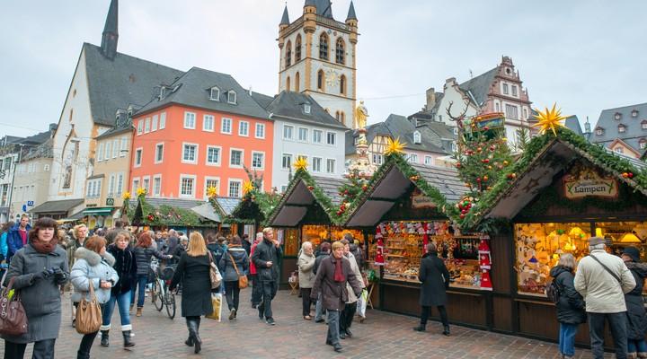 Kerstmarkt in Trier