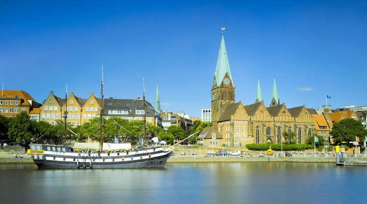 Skyline Bremen, Duitsland