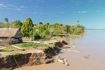 Het Amazonegebied Peru