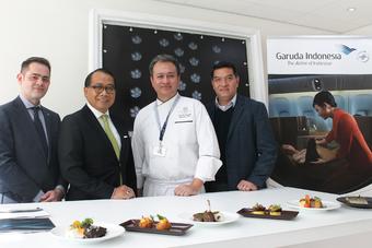 Nieuw bij Garuda Indonesia: gerechten van een sterrenchef