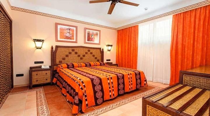 Slaapkamer van Familiesuite