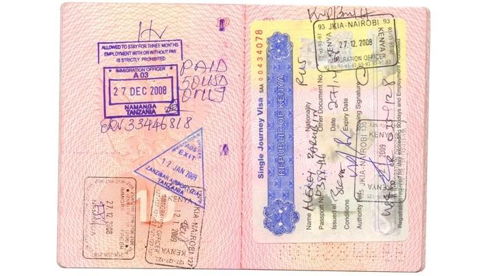 Een visum voor Tanzania