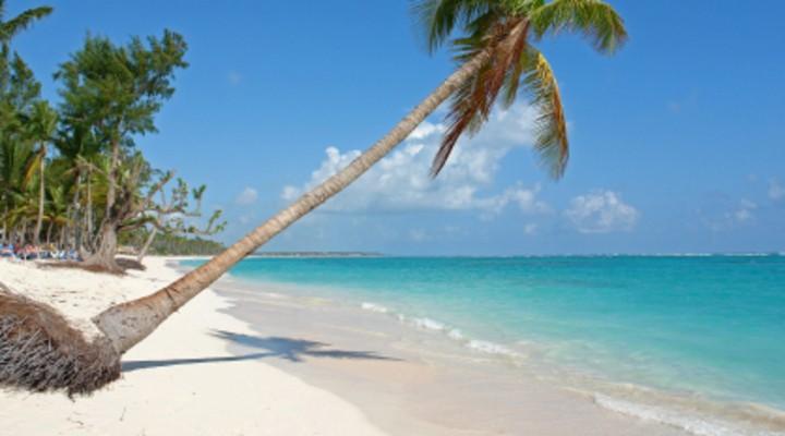 Strand op de Dominicaanse Republiek