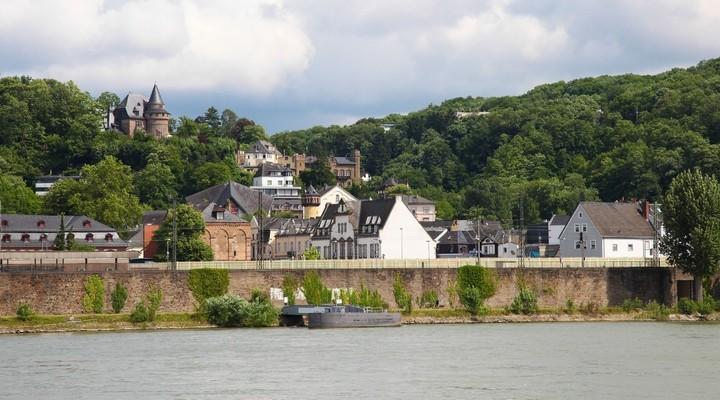 Koblenz aan de Rijn, Duitsland