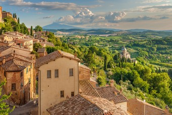 Montepulciano in Toscane