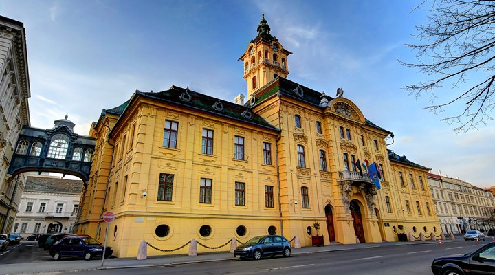Stadhuis Szeged, Hongarije