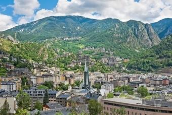 Andorra la Vella, de hoofdstad van Andorra