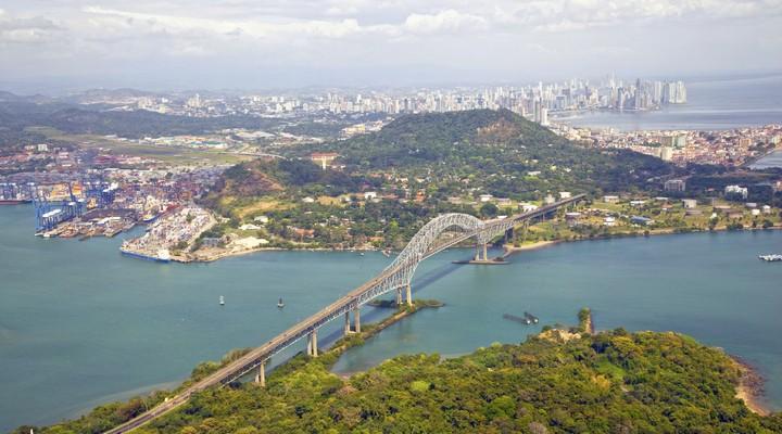 Brug in Panama-stad