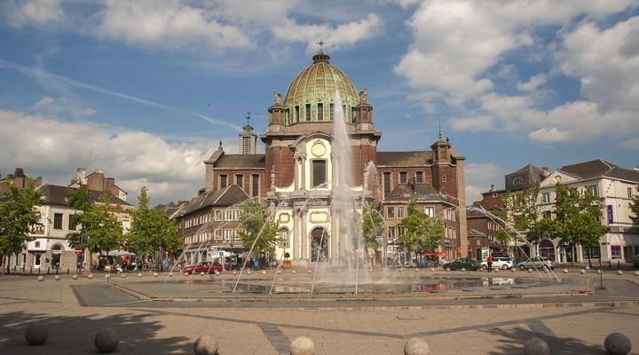 Fonteinen centrum Charleroi