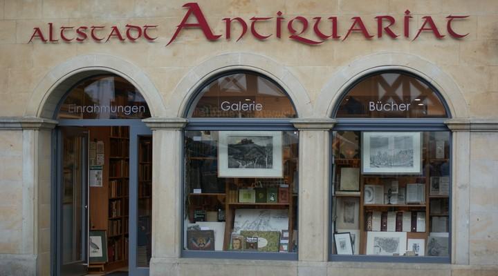 Antieke boekenwinkel