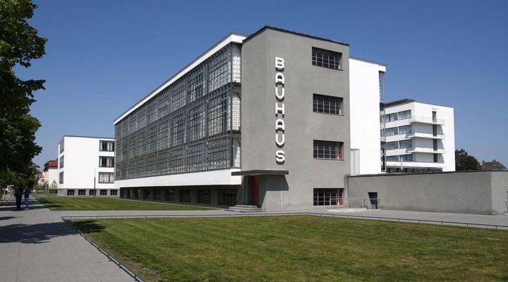 Bauhaus gebouw in Dessau