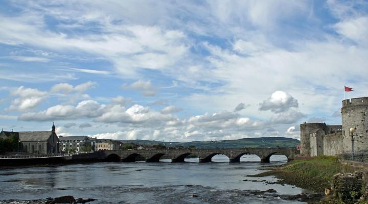 Shannon River Bridge, Limerick, Ierland