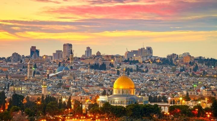 De hoofdstad Jeruzalem