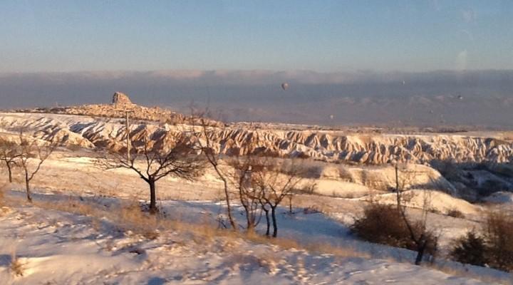 Landschap Cappadocië