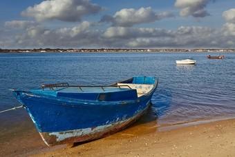 Vissersbootje in Portugal
