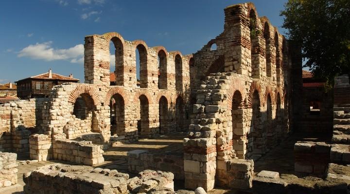 Het historische stadje Nessebar