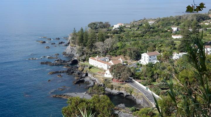 De omgeving van Ribeira Grande