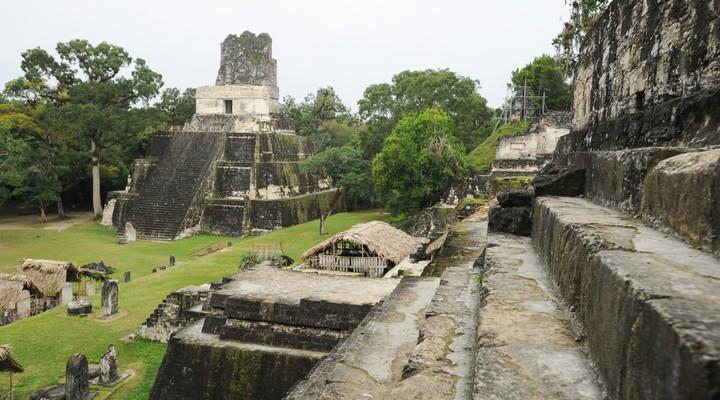 Maya-ruines in Tikal