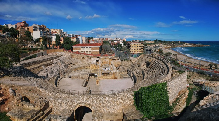 Ruïnes Romeins theater in Tarragona
