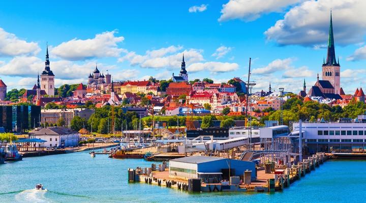 De hoofdstad Tallinn