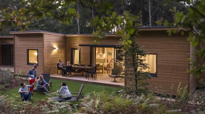 Een van de nieuwe cottages